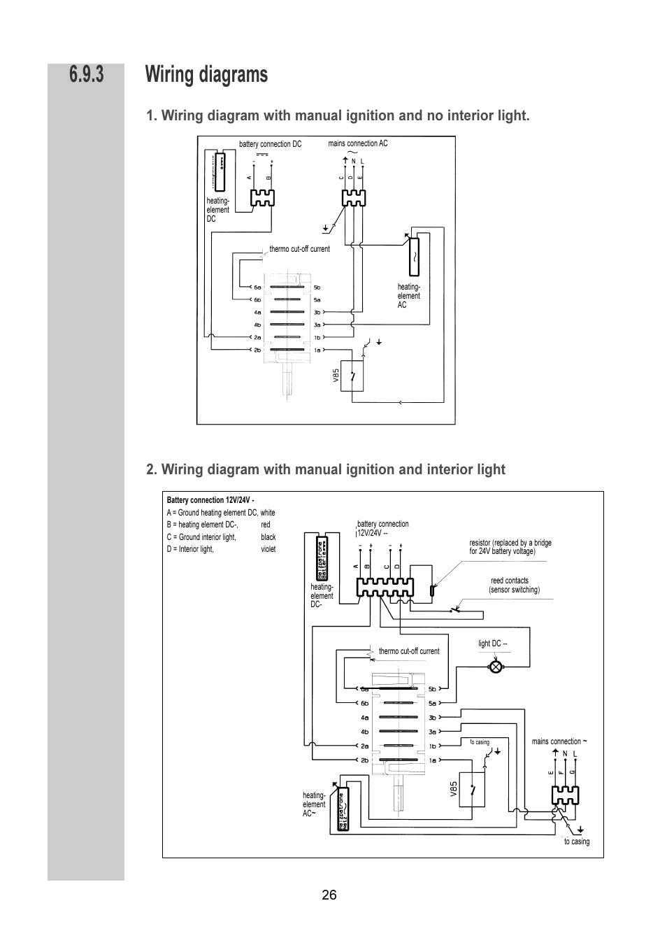 hight resolution of dometic wiring diagrams wiring diagram for youwiring diagrams dometic rm 6270 l user manual