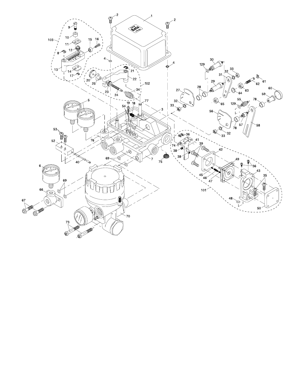 Figure 17: beta positioner