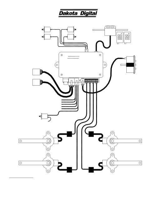 small resolution of dakota digital dhc 2100 user manual 6 pages also for dhc 2000 hly 3027 wiring diagram dakota digital wiring diagram