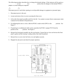 internal settings gai tronics gc ac1 ez page industrial intercom user manual page 3 17 [ 954 x 1235 Pixel ]