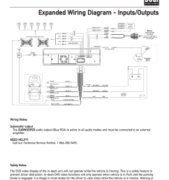 expanded wiring diagram inputs outputs xdvd700 installation dual xdvd700 user manual page 7 56 [ 954 x 1235 Pixel ]