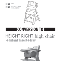 Age For High Chair Electric Reclining Keekaroo Height Right Infant Insert Tray Cover User Manual 7 Pages Also Kids Comfort Cushion Set Users