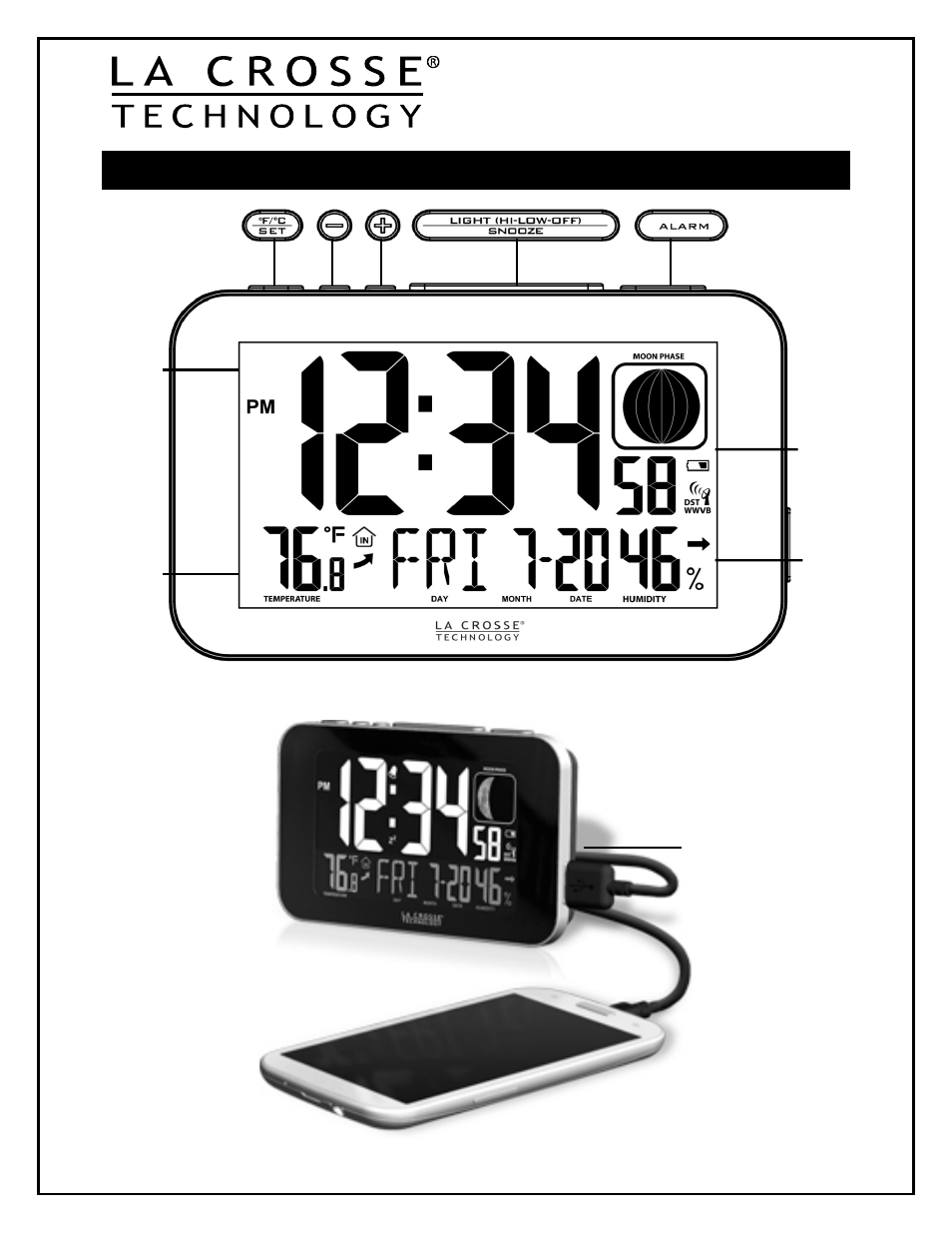 Shooting Alarm Clock Instruction Manual