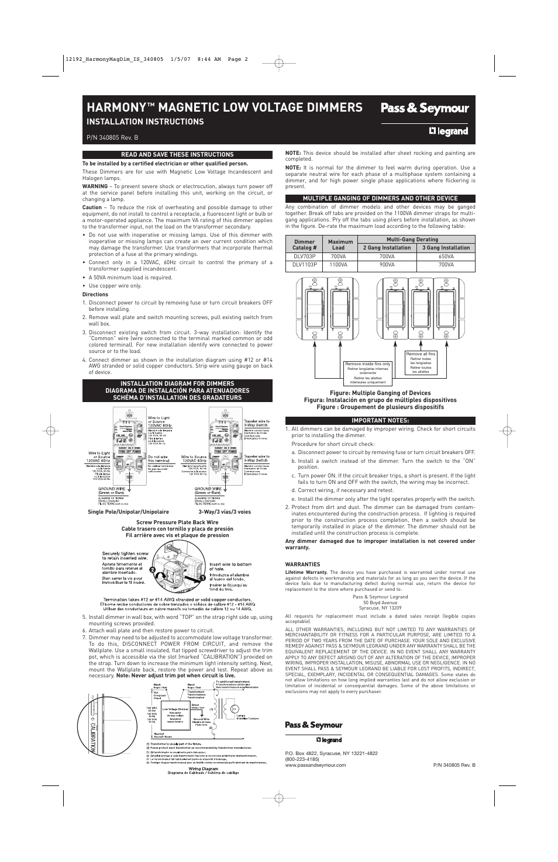 medium resolution of harmony dimmer wiring diagram
