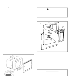 important caution save for local electrical inspector s use maytag mmc5000bdb installation user manual page 2 2 [ 954 x 1235 Pixel ]