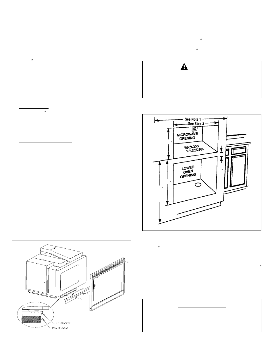 hight resolution of important caution save for local electrical inspector s use maytag mmc5000bdb installation user manual page 2 2