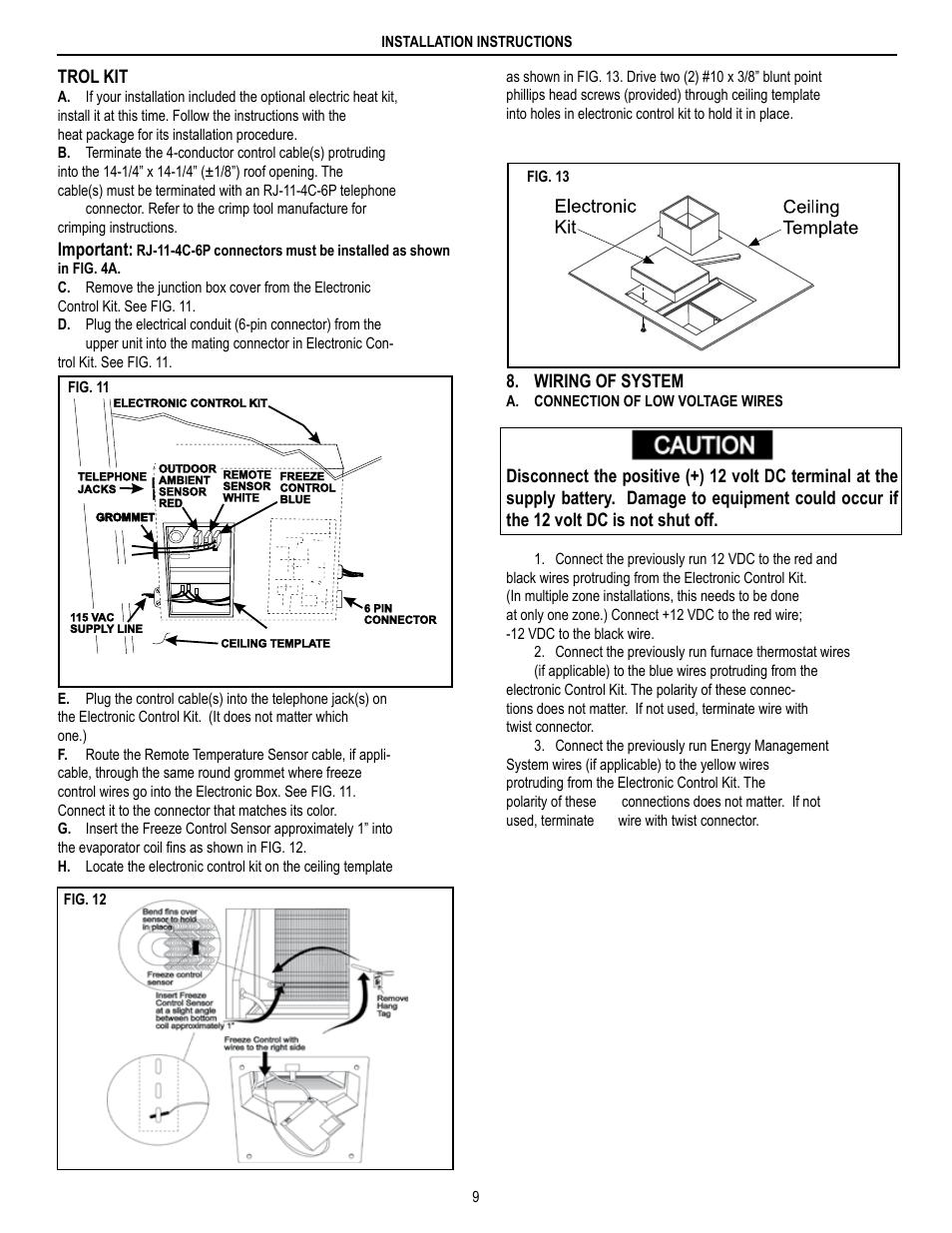 medium resolution of dometic brisk air 590 series user manual page 9 12 also for brisk air 595 series brisk air 579 series