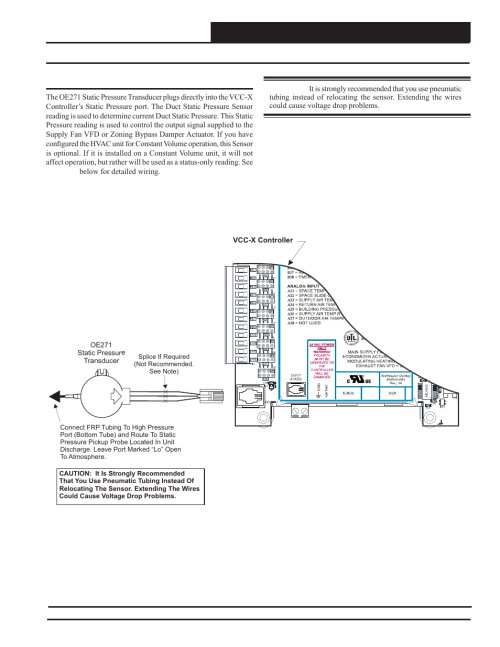small resolution of vcc x controller wiring static pressure transducer wiring orion system vcc x controller user manual page 33 120