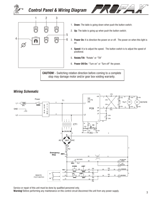 small resolution of wp 500 general operating instructions control panel wiring diagram wiring schematic