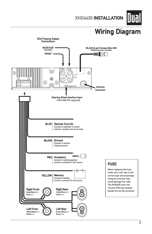dual car amp wiring diagram
