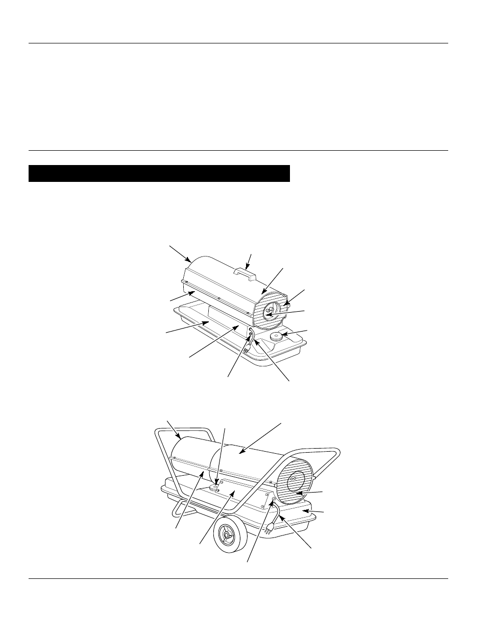 Dayton portable oil-fired heaters, Product identification
