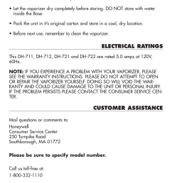 customer assistance duracraft baby s breath vaporizer dh 711 user manual page 8 11 [ 955 x 1336 Pixel ]
