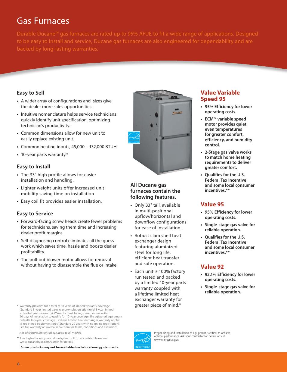 medium resolution of gas furnaces value variable speed 95 value 95 ducane hvac air rh manualsdir com ducane furnace parts diagram ducane furnace parts manual
