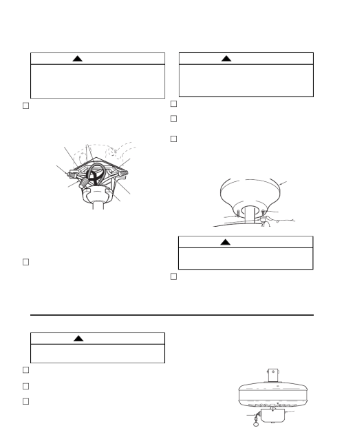 small resolution of using your ceiling fan how to wire your ceiling fan warning emerson cf704pb02 user manual page 6 8
