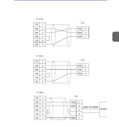 wiring wiring 95 hakko monitouch v7 series user manual page 302 344 [ 954 x 1348 Pixel ]