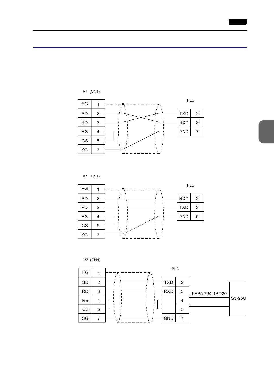 medium resolution of wiring wiring 95 hakko monitouch v7 series user manual page 302 344