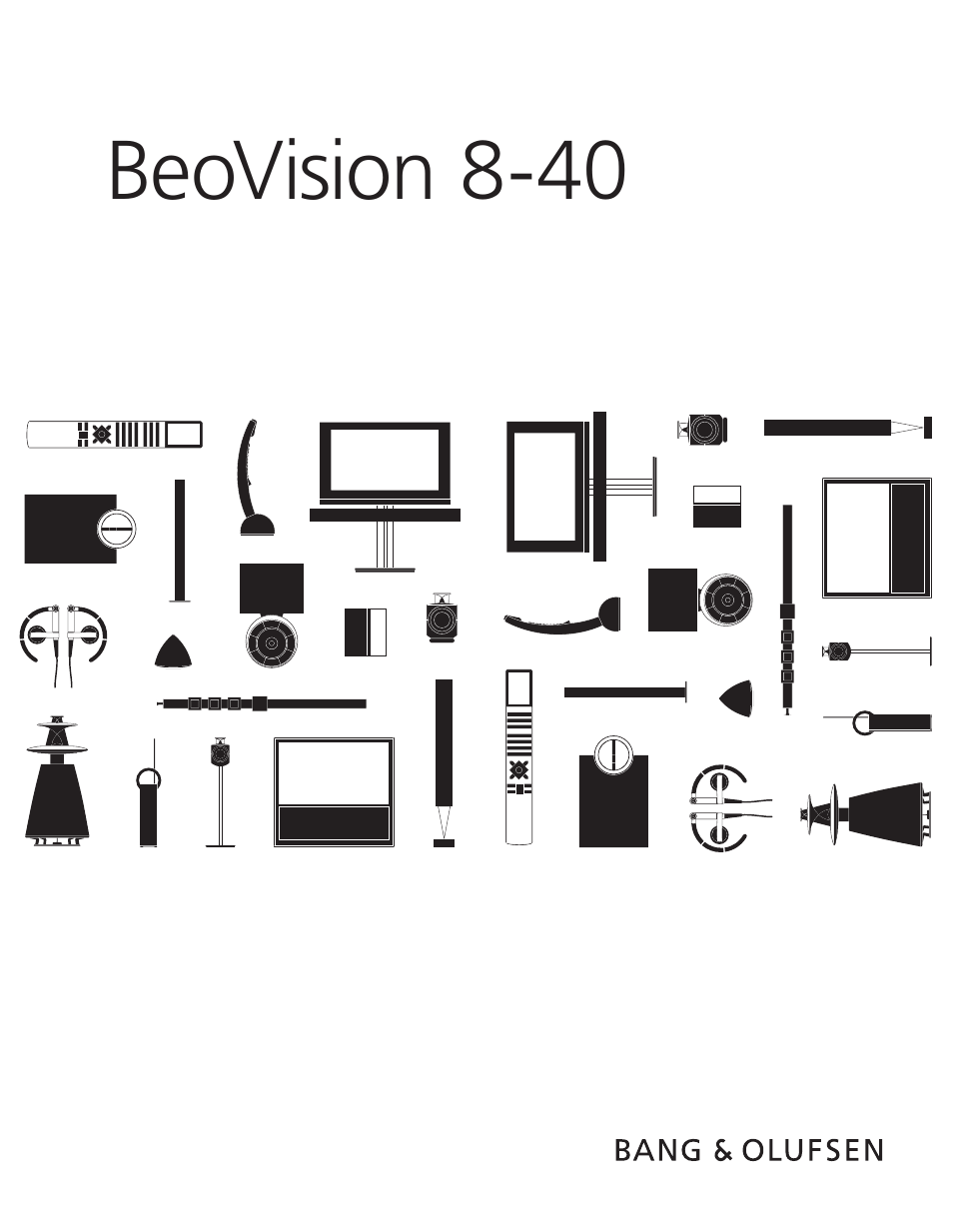 Bang & Olufsen BeoVision 8-40 Getting Started User Manual