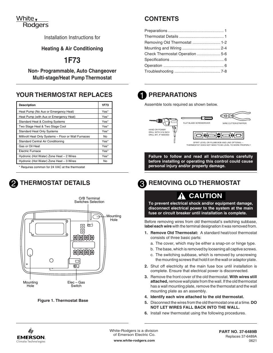 medium resolution of standard heat only thermostat wiring diagram