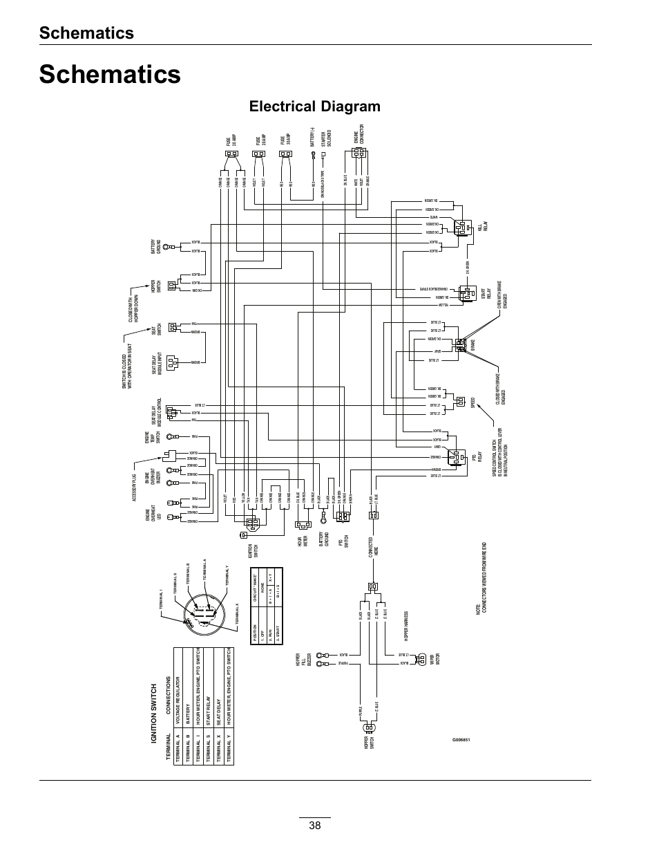 medium resolution of schematics electrical diagram exmark navigator 4500 367 user exmark electrical diagram