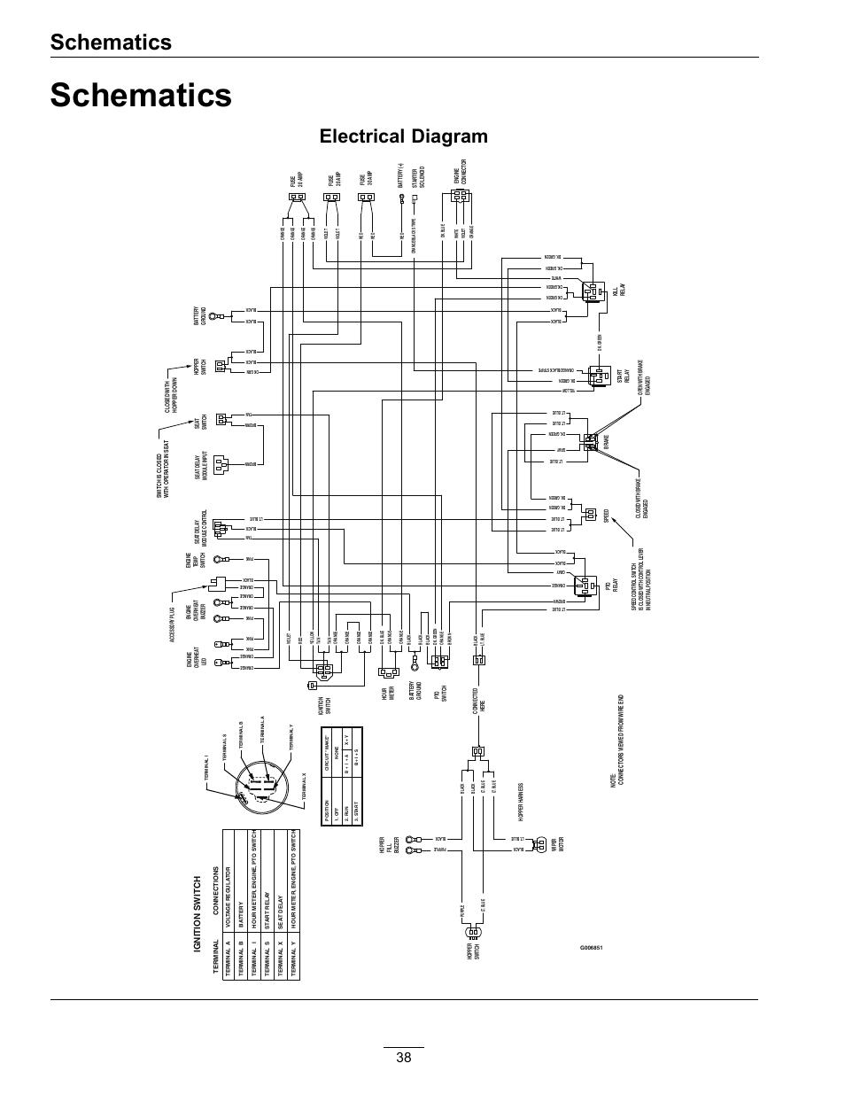 hight resolution of schematics electrical diagram exmark navigator 4500 367 user exmark electrical diagram