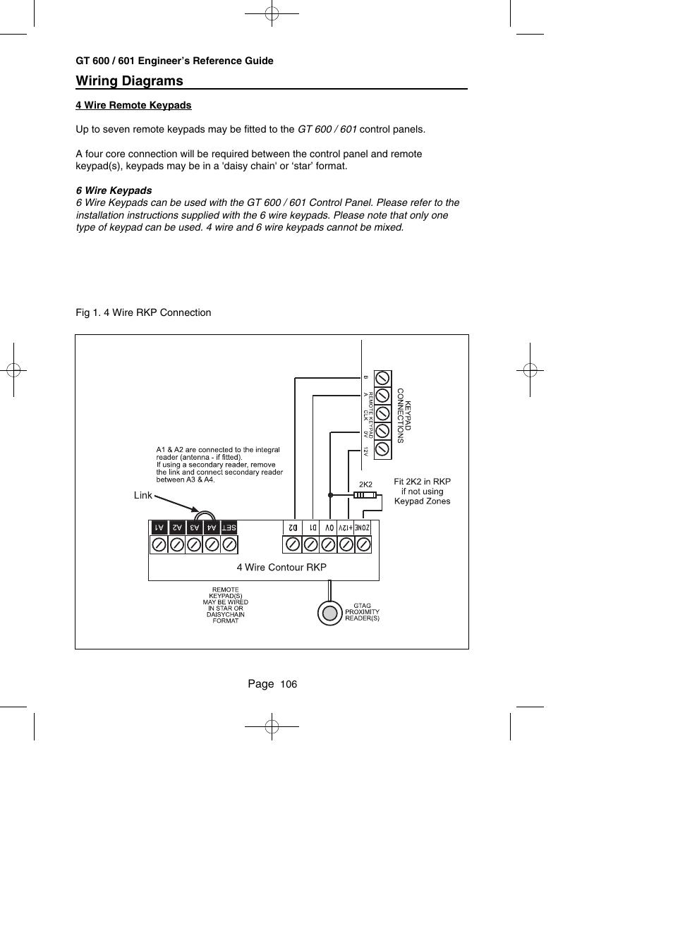 medium resolution of 4 wire diagram control keypad