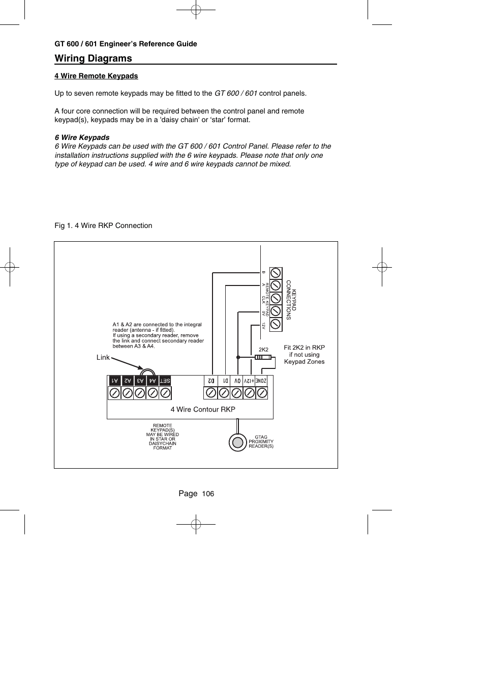 hight resolution of 4 wire panel wiring diagram