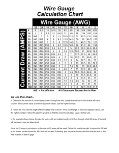 Current draw amps wire gauge calculation chart awg also rh manualsdir