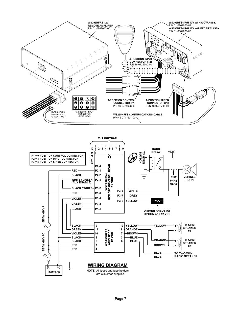 Whelen Liberty Bar Wiring Diagram Universal Power Lock