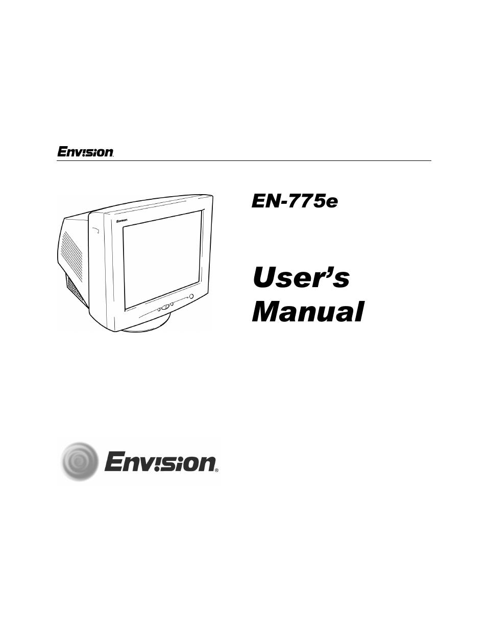 ENVISION EN-775E MONITOR DRIVER DOWNLOAD