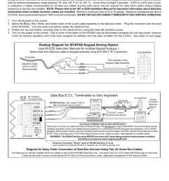 installation of elk m1kpas keypad arming station data bus e o l termination is very important hookup diagram for m1kpas keypad arming station elk  [ 954 x 1235 Pixel ]