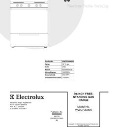 electrolux white westinghouse wwgfkwb user manual pages [ 954 x 1235 Pixel ]