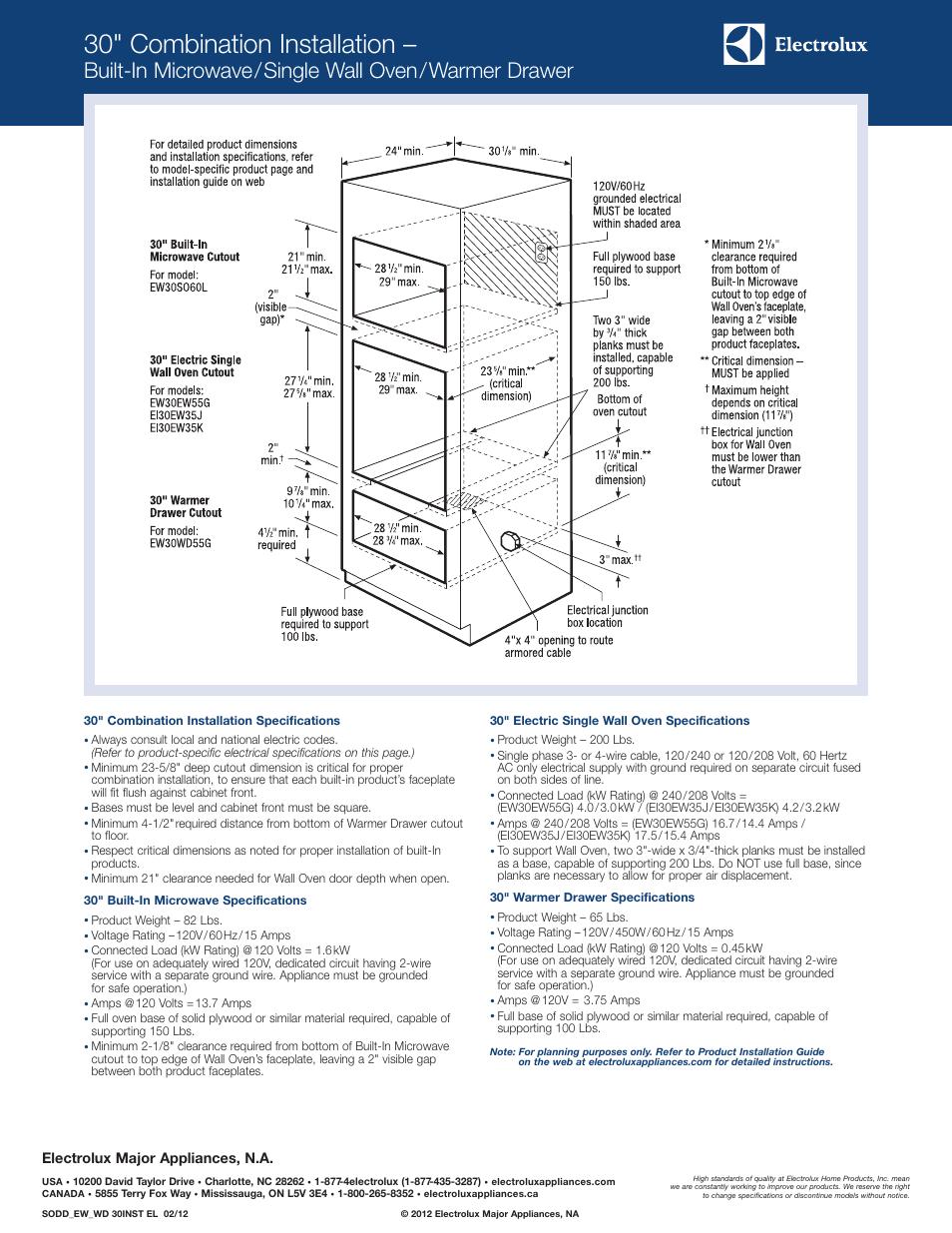 microwave ew30so60l s user manual
