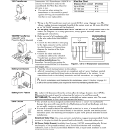 ac power battery and ground connections wire run chart mounting and wiring the control 2 3 honeywell vista 20p user manual page 9 80 [ 954 x 1235 Pixel ]