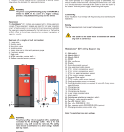 electrical connections installation heating connection heatmaster 201 user manual page 12 28 [ 954 x 1351 Pixel ]