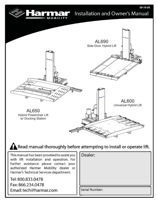Harmar Al Wiring Diagram on