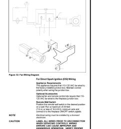 for direct spark ignition dsi wiring caution 35 figure 32 fan wiring diagram heat glo fireplace heat n glo 6000xlt cdn user manual page 35 43 [ 954 x 1235 Pixel ]
