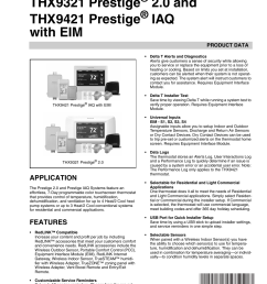 honeywell prestige thx9321 user manual 160 pages also for prestige thx9421 [ 954 x 1235 Pixel ]