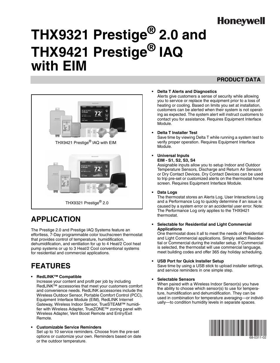 hight resolution of honeywell prestige thx9321 user manual 160 pages also for prestige thx9421