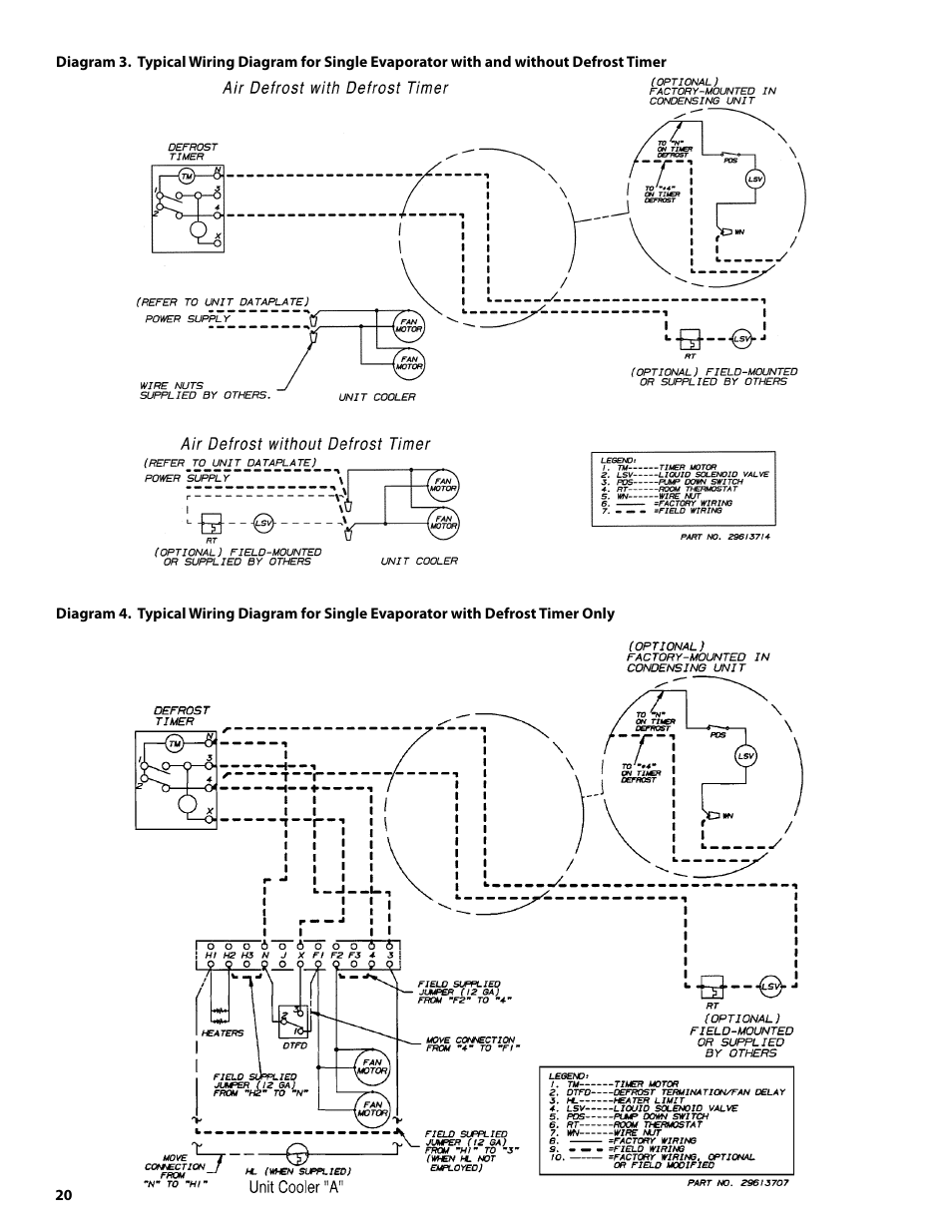 defrost thermostat wiring diagram