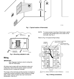 wiring t8011r programmable heat pump thermostat gc r y w1 l w2 honeywell thermostat t8011r wiring diagram [ 954 x 1475 Pixel ]