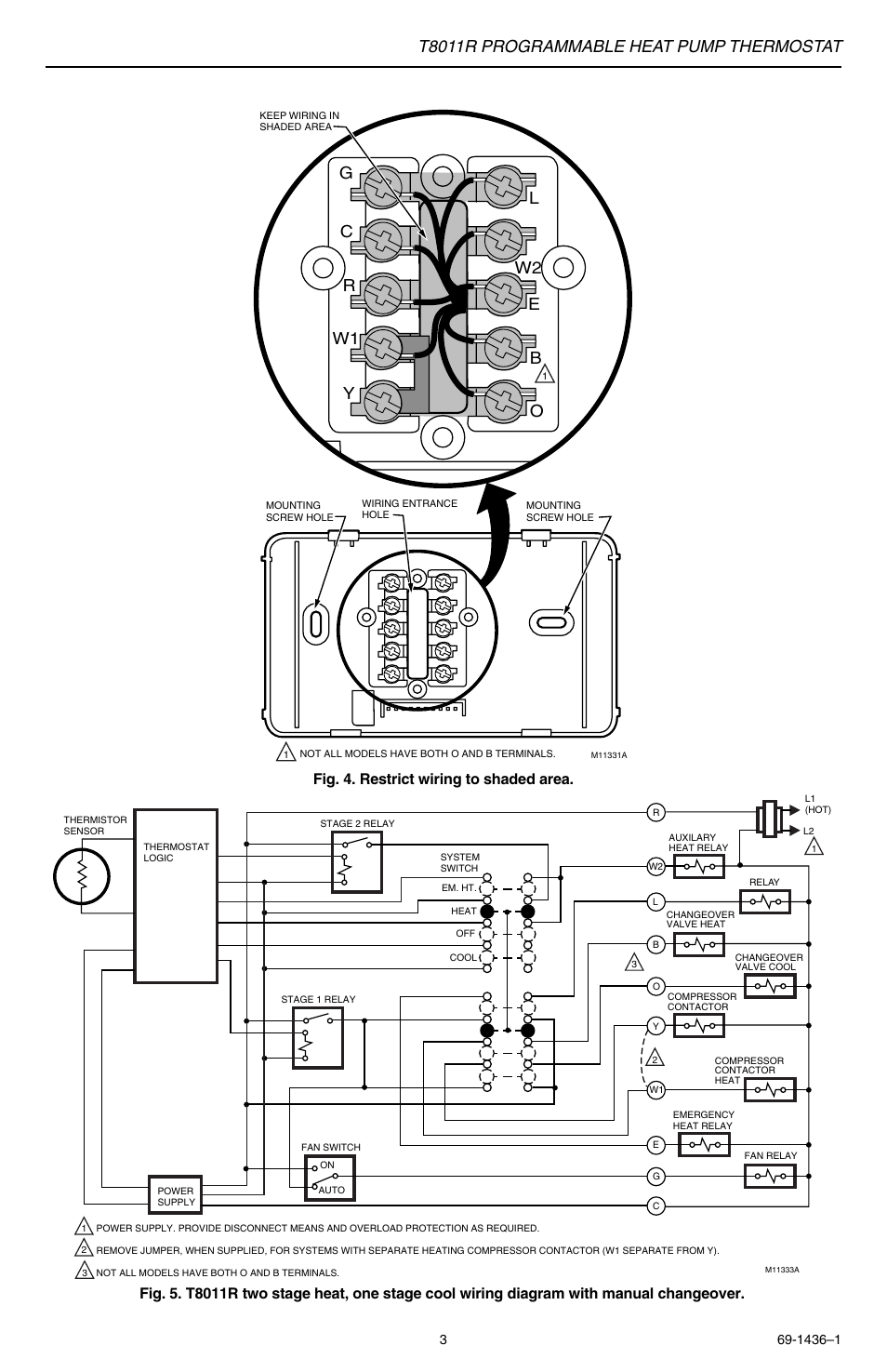 Thermostat Wiring Diagram Heat Pump / 2 Stage Heat
