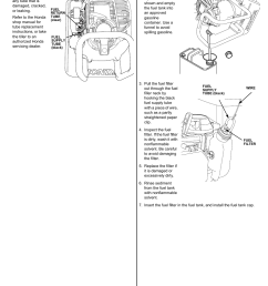 fuel tube inspection fuel filter and fuel tank cleaning honda fg110 user manual page 13 24 [ 954 x 1235 Pixel ]