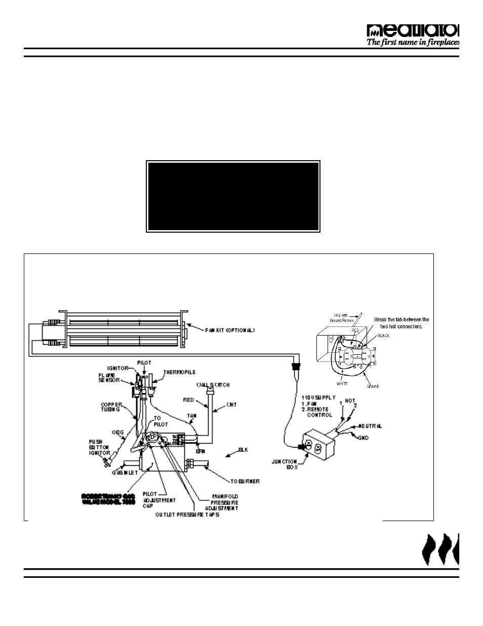 hight resolution of wiring diagram for fireplace fan