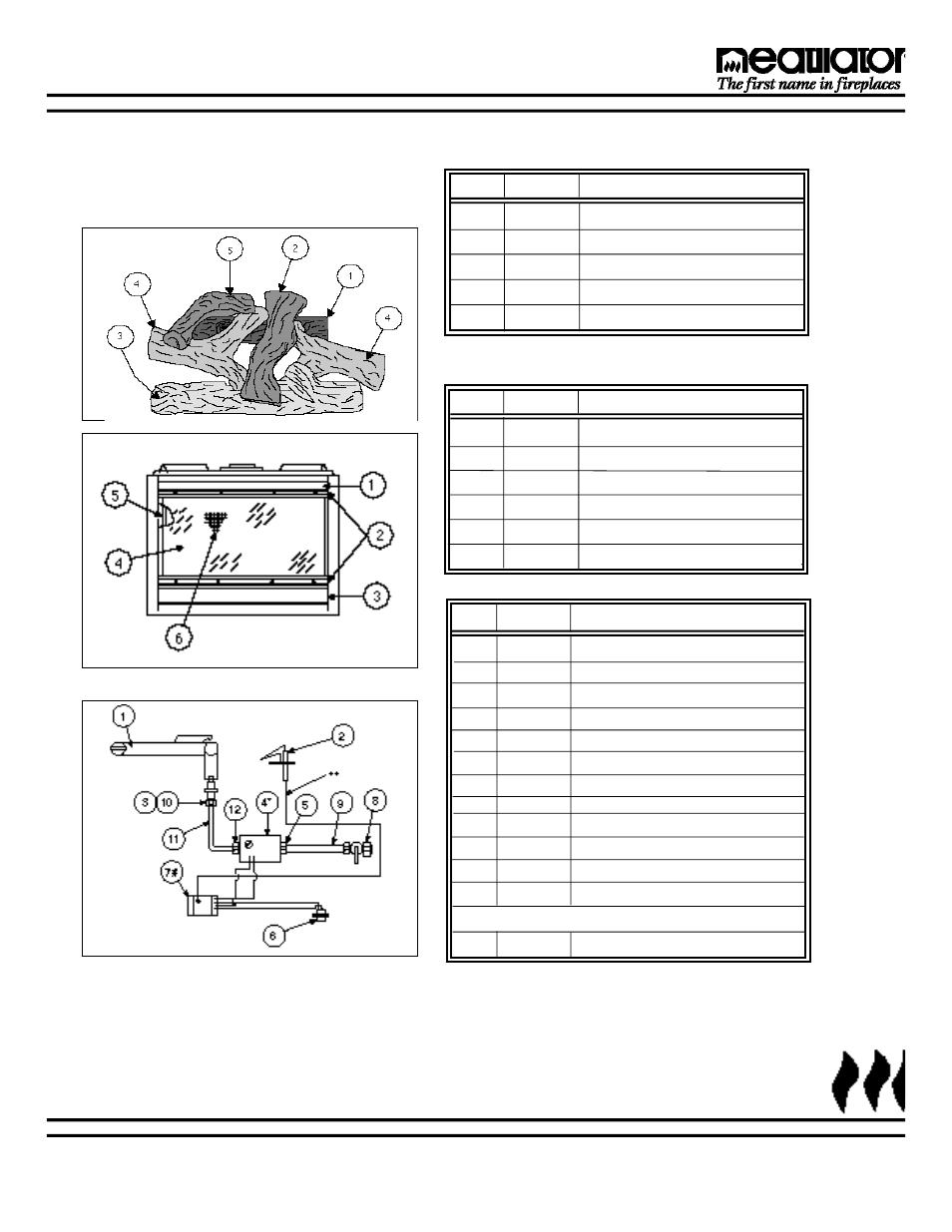 hight resolution of ix replacement parts heatiator heatilator fireplace gc150 user manual page 27 28