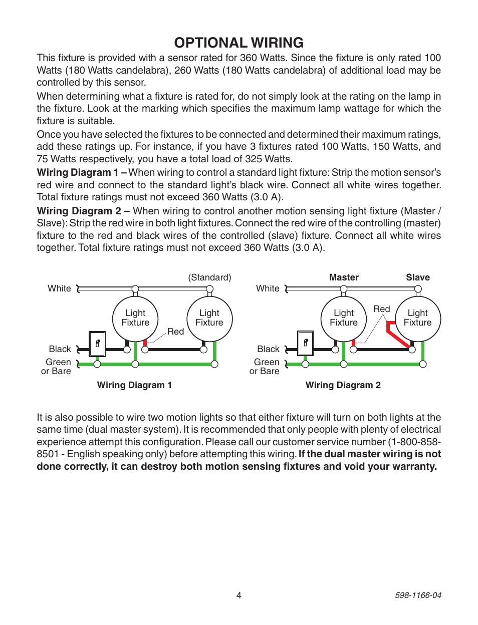 hight resolution of optional wiring heath zenith dual brite pf 4125 az user manual page 4 24