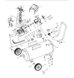 assembly diagram harbor freight tools air compressor 67708 user manual page 19 20 [ 954 x 1235 Pixel ]