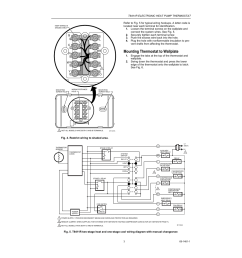 mounting thermostat to wallplate honeywell heat pump thermostat t8411r user manual page 3 6 [ 954 x 1235 Pixel ]