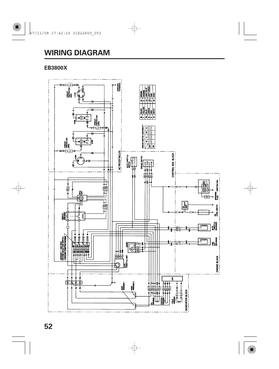 medium resolution of honda eb5000 wiring diagram