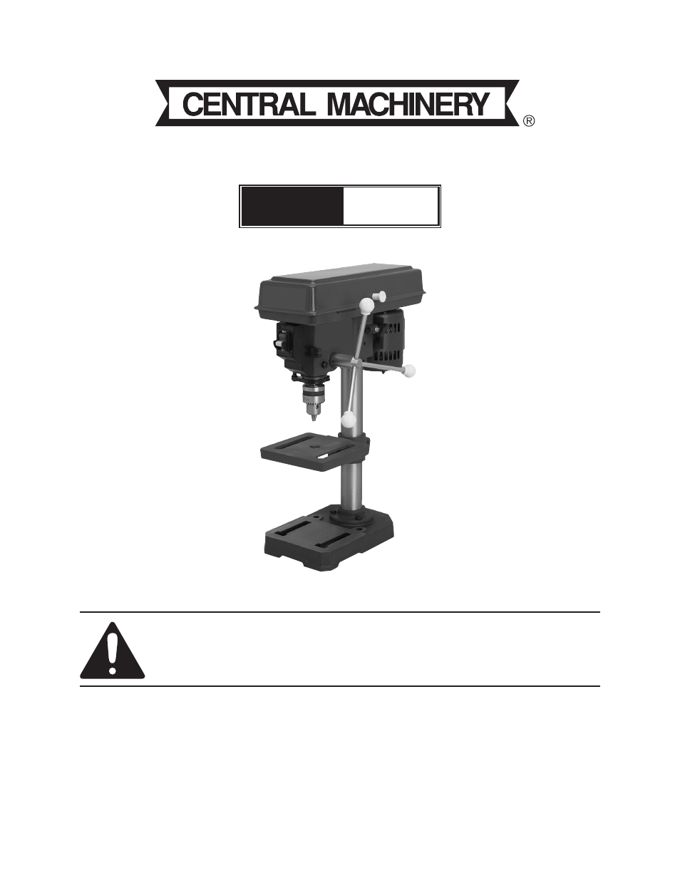 Drill Press Guide Harbor Freight