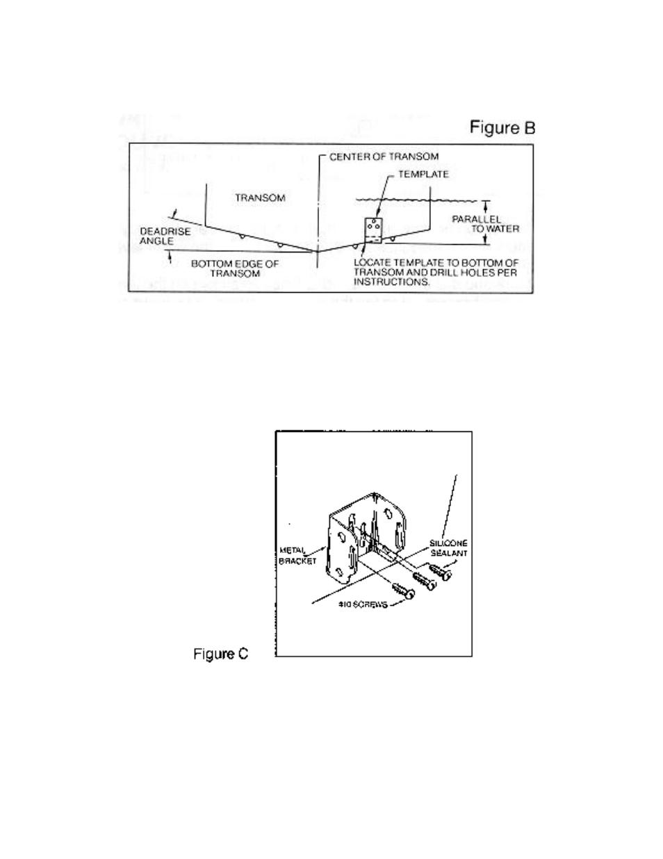 hight resolution of boat transom diagram